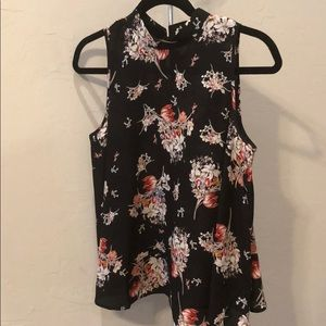 Maeve floral sleeveless top